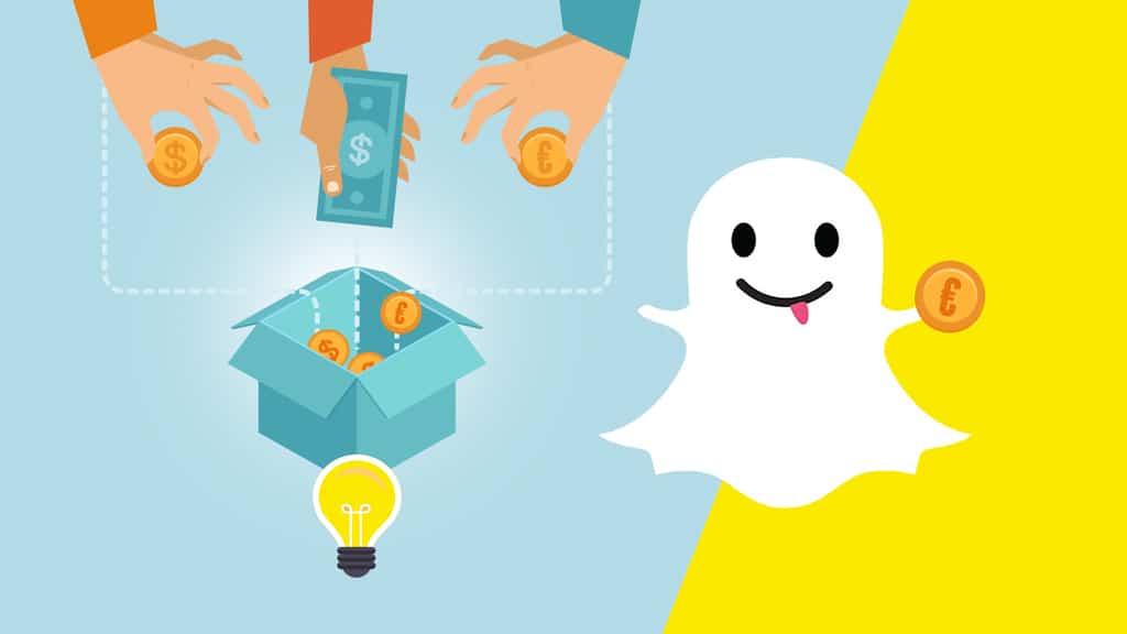 Find Sponsors on Snapchat