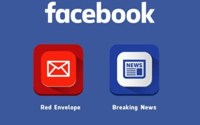 Two Possibly New Features on Facebook - -Red Envelope- and -Breaking News- Tag