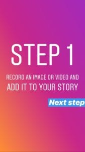 Step 1 in how togGet views on Instagram Stories