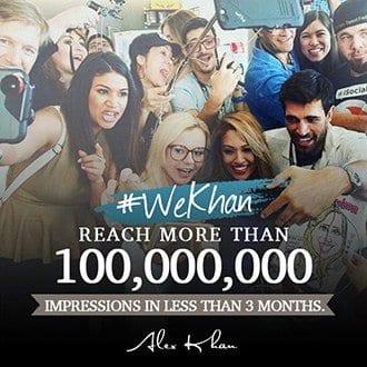 Find Influencers image #WeKhan