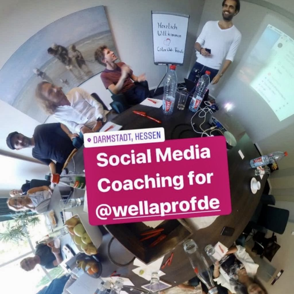Wella Social Media Workshop