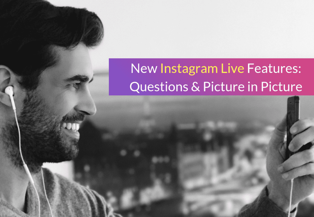 Instagram Live Features: Fragen & Bild in Bild