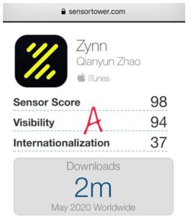 Bildschirmfoto 2020 06 10 um 15.42.29 Die neue Zynn App 2020 - Der erste TikTok Konkurrent?
