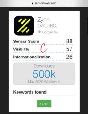 Bildschirmfoto 2020 06 10 um 15.43.30 Die neue Zynn App 2020 - Der erste TikTok Konkurrent?