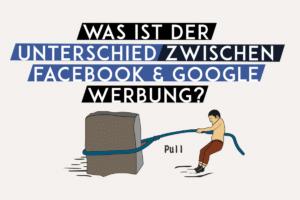 Was ist der Unterschied zwischen Facebook und Google Werbung?